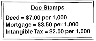 Doc Stamps Rates